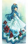 Flowerish Blue