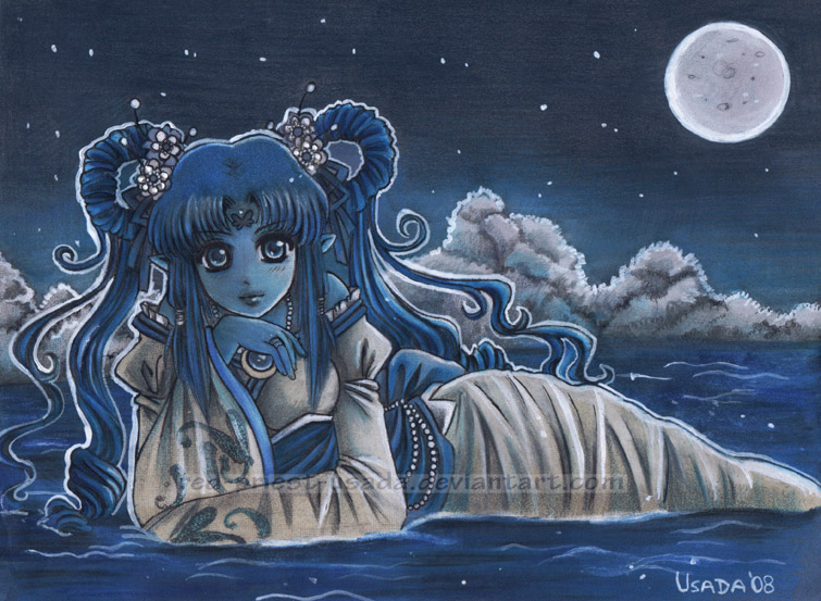 Water Priestess by Red-Priest-Usada