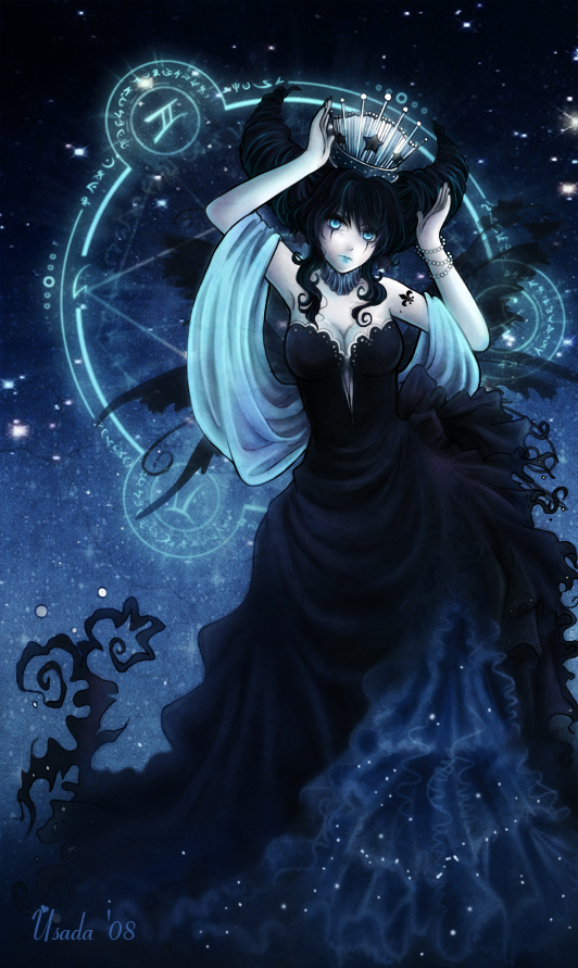 Nyx- The Goddess of the Night by Red-Priest-Usada