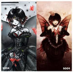 Red Butterfly- 2004 vs. 2009