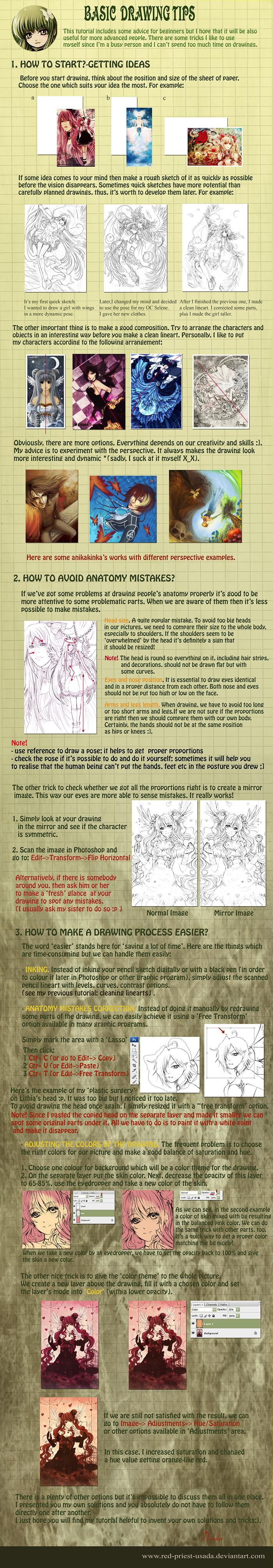 Tutorial: Basic drawing tips
