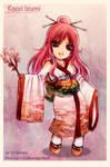 Chibi Commission: Kaori Izumi