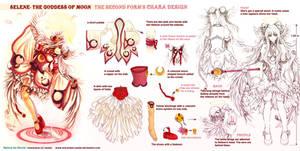 Selene's second form-design