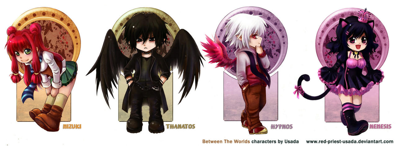Between The Worlds- Chibi 01 by Red-Priest-Usada