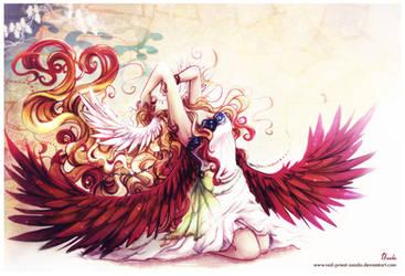 The Warm Aura Around Me by Red-Priest-Usada