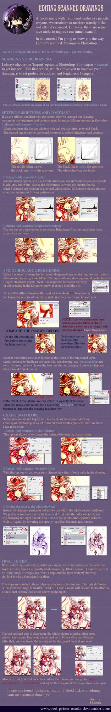 Editing Scanned Drawings