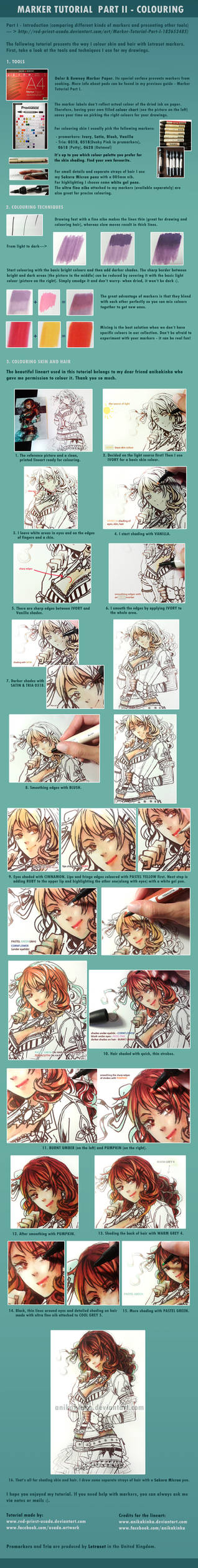 Marker Tutorial Part II - Colouring