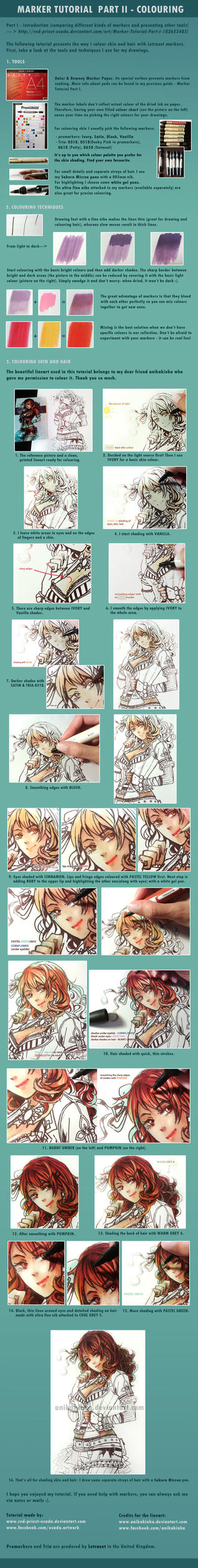 Marker Tutorial Part II - Colouring by Red-Priest-Usada
