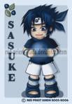 Chibi Fruit Ninja-Sasuke