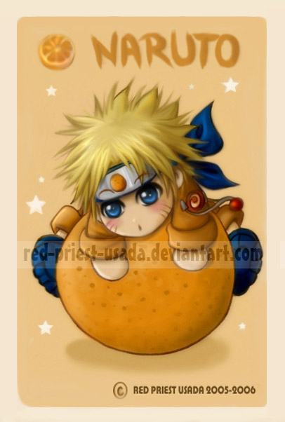 Chibi Fruit Ninja-Naruto by Red-Priest-Usada