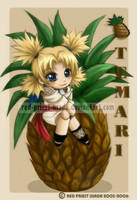 Chibi Fruit Ninja-Temari by Red-Priest-Usada