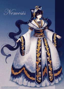 Adult Nemesis - gown design