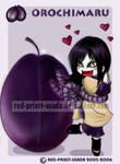 Chibi Fruit Ninja-Orochimaru
