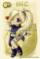 Chibi Fruit Ninja-Ino by Red-Priest-Usada