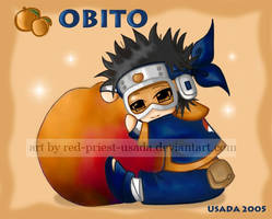 Chibi Fruit Ninja-Obito by Red-Priest-Usada