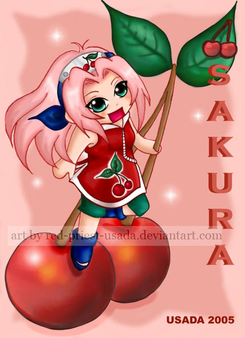 Chibi_Fruit_Ninja_Sakura_by_Red_Priest_Usada