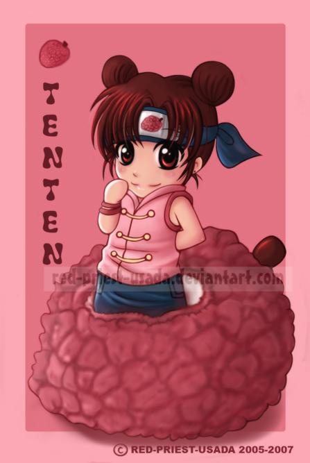 ] ،[ تـــقــريــر عـن TenTen..^^ Chibi_Fruit_Ninja_Tenten_by_Red_Priest_Usada