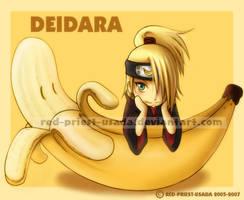 Chibi Fruit Ninja-Deidara by Red-Priest-Usada