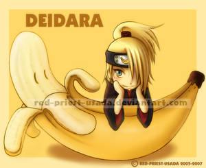 Chibi Fruit Ninja-Deidara