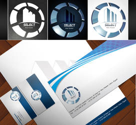 Select Logo And Stationery by Se7s1989