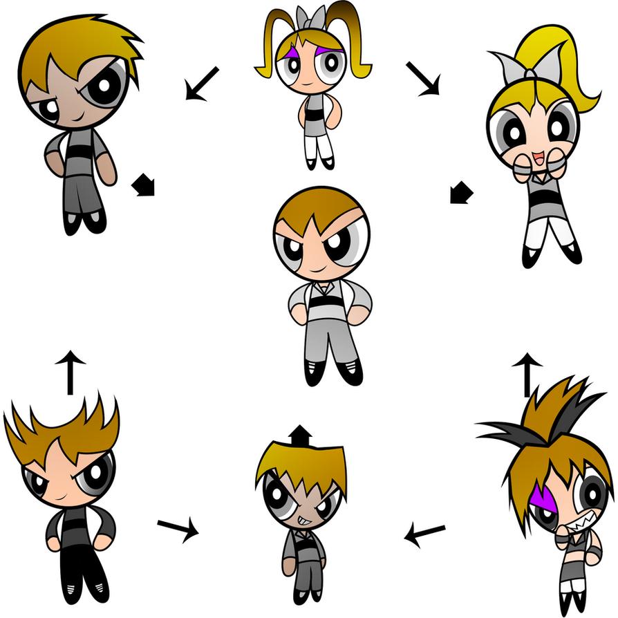 Fusion Ha! Ultimate PowerPuff By Keytee-chan On DeviantArt