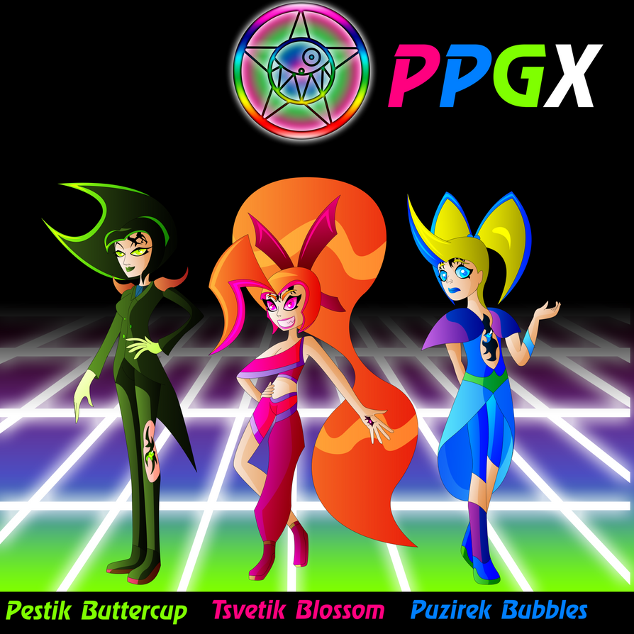PPGX - PowerPuff Girls Xeno by Keytee-chan