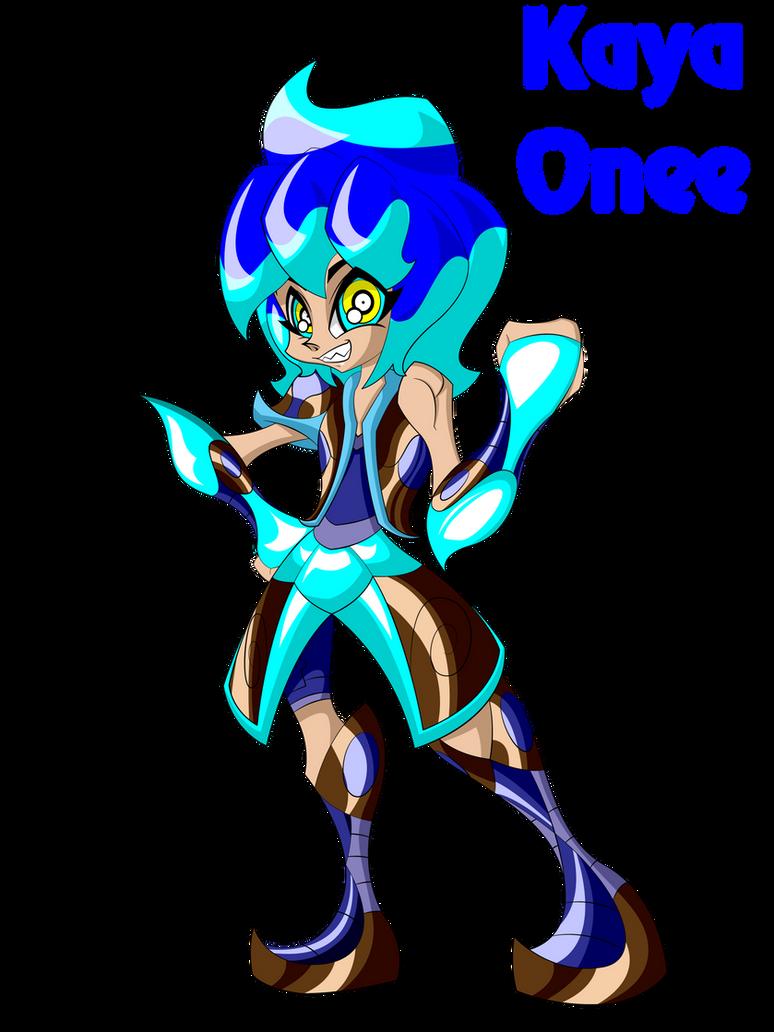 Kaya Onee - Ice Dragon Girl by Keytee-chan