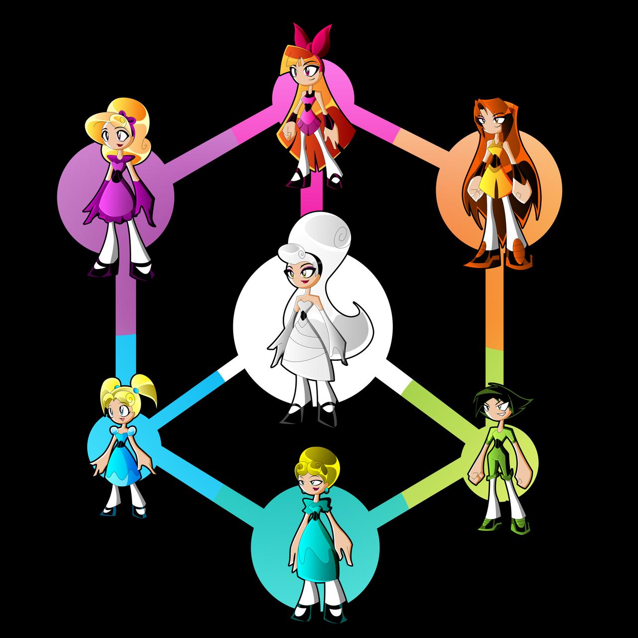 PowerPuff Hexafusion By Keytee-chan On DeviantArt