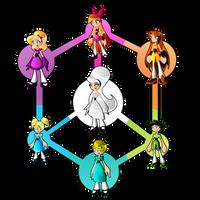 PowerPuff Hexafusion by Keytee-chan