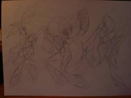 PPGX Sketch by Keytee-chan