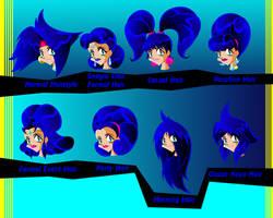 Kaya Onee Hairstyles