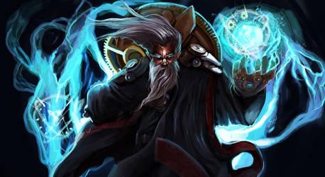 Zilean- League of Legends FanArt
