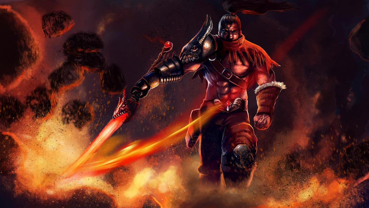 Yasuo Dragonslayer By Dragonflamebg On Deviantart