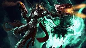 Dragonslayer Lucian(with mask)