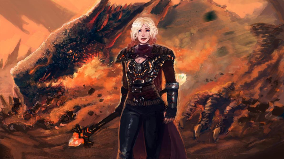 Dragonslayer Lux by Dragonflamebg