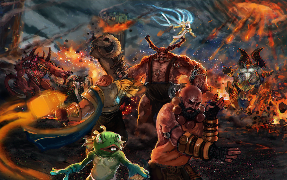 Heroes Of The Storm contest entry by Dragonflamebg