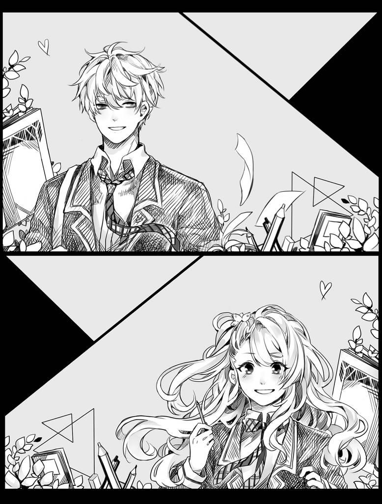 CM: Amako and Kotaro by Kasanray