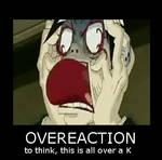 Overeaction