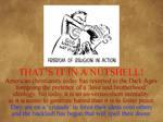 Christianity XXXVII - Christianity's Real Agenda
