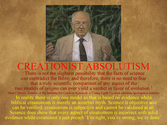 ICR I - Morris' Absolutist Ideology by uncledon