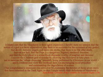 Atheism L - James Randi [Blasphemy] by uncledon