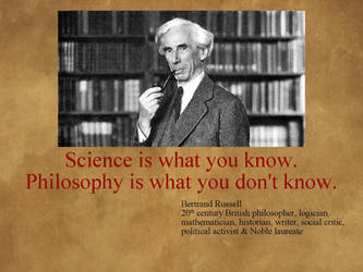 Philosophy XXVIII - Science and Philosophy by uncledon