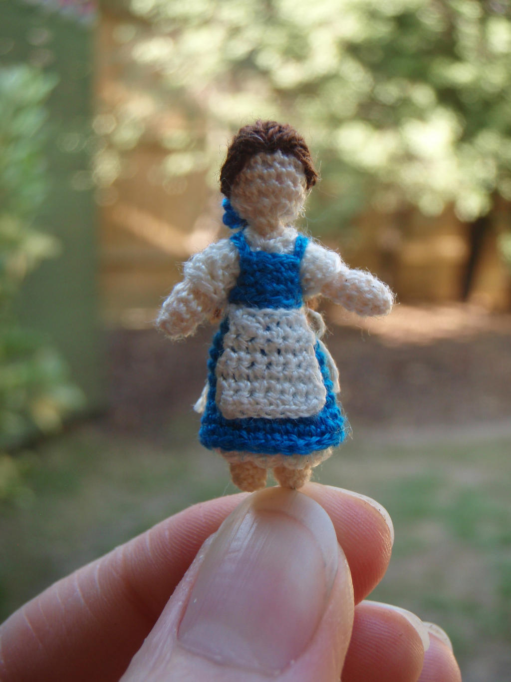 Micro Crochet Belle by honouraryweasley
