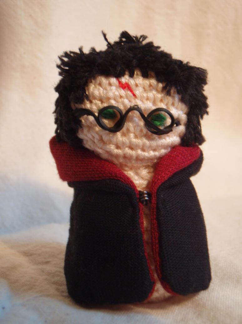 Amigurumi Harry Potter : Amigurumi Harry Potter by honouraryweasley on DeviantArt