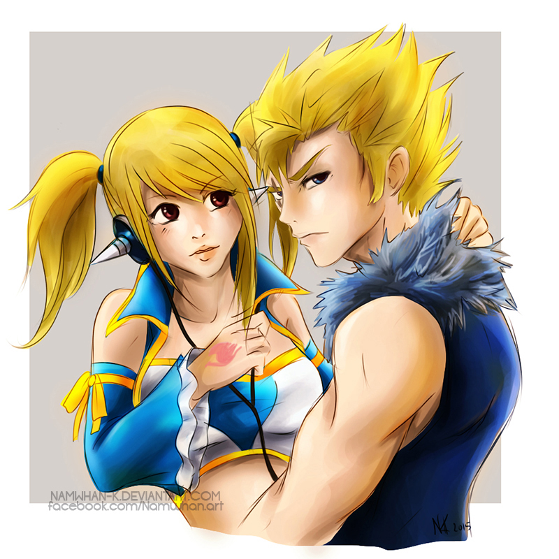 Lucy x Laxus by Namwhan-K on DeviantArt