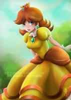 Princess Daisy by Namwhan-K