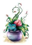 Ivysaur by Namwhan-K
