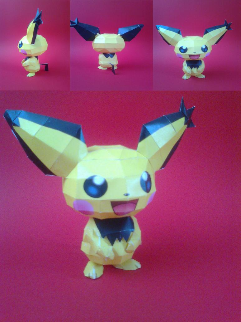 pokemon pichu by epikachu