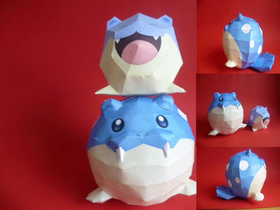 speal papercraft by epikachu