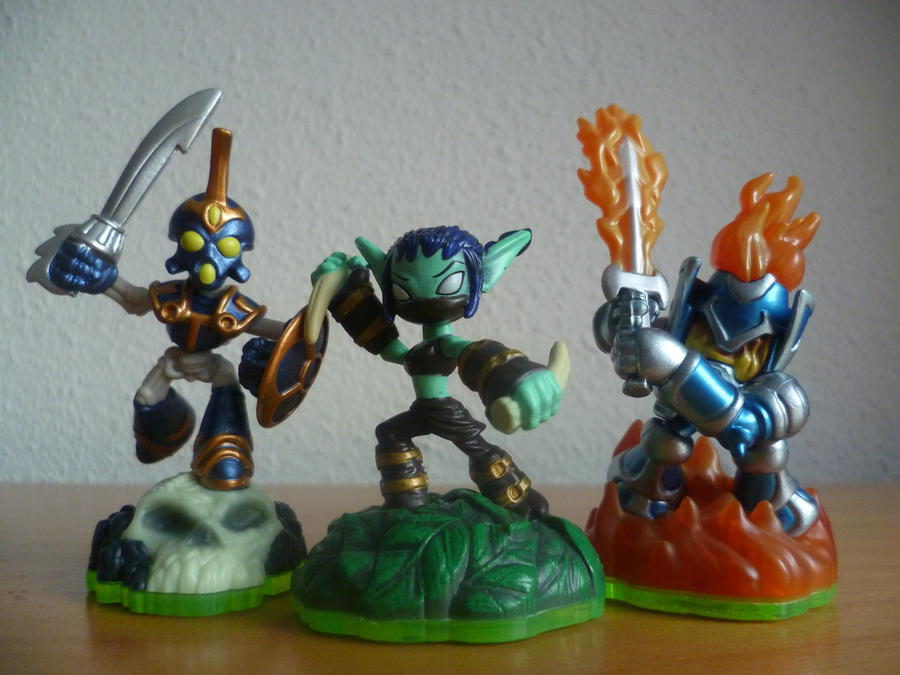 skylanders fighters by epikachu